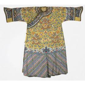 Manchu Empress's Semi-formal Twelve Symbol Court Robe