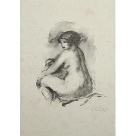 Nue Assis (Seated Nude)