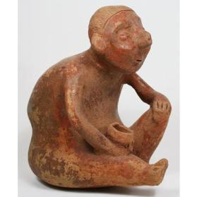 Figure Holding a Bowl