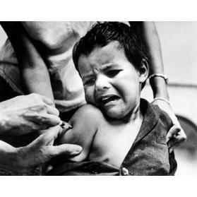 Child Receiving Inoculation