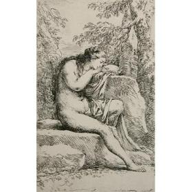 Seated Nude Woman