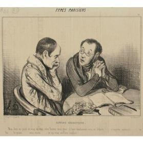 Auteurs dramatiques (Authors of a Drama), Plate 16