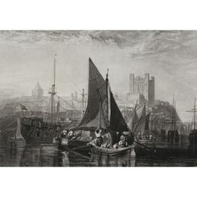 Rochester on the River Medway, Plate V