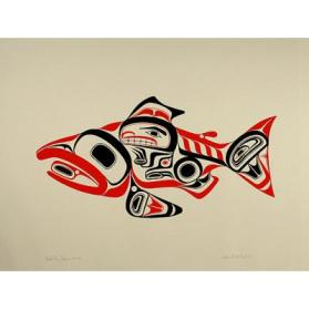 Haida Dog Salmon (Skaagi)