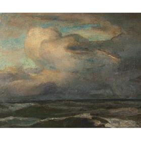 Study for Ship in a Squall