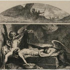 Jesus in the Tomb