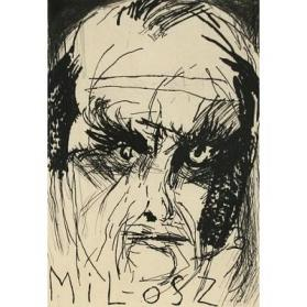 Portrait of the Poet Czeslaw Milosz