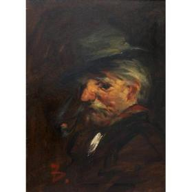 Old Man with a Pipe