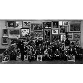 Art Students League Alumni Group, New York City, 1950