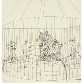 Reproduction from Calder's Circus