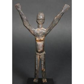 Figure with Raised Arms (Bateba)