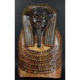 Mask from Sarcophagus Lid