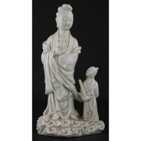 Guanyin as Miaoshan with Sudhana