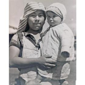 Indian Mother and Child of Guatemala, Central America