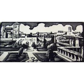 Untitled (City with Formal Gardens)