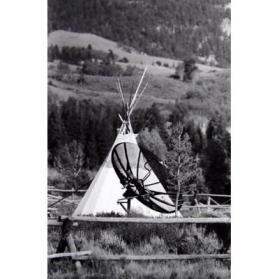 The Indian Teepee, Kelly, Wyoming
