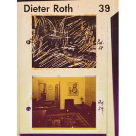 Dieter Roth Collected Works Volume 39: Smaller Works (Part 1)