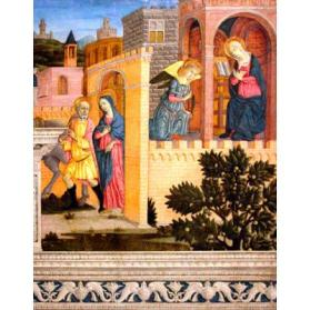 The Annunciation and the Journey to Bethlehem