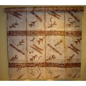 Painted Bark Cloth (Ngatu)